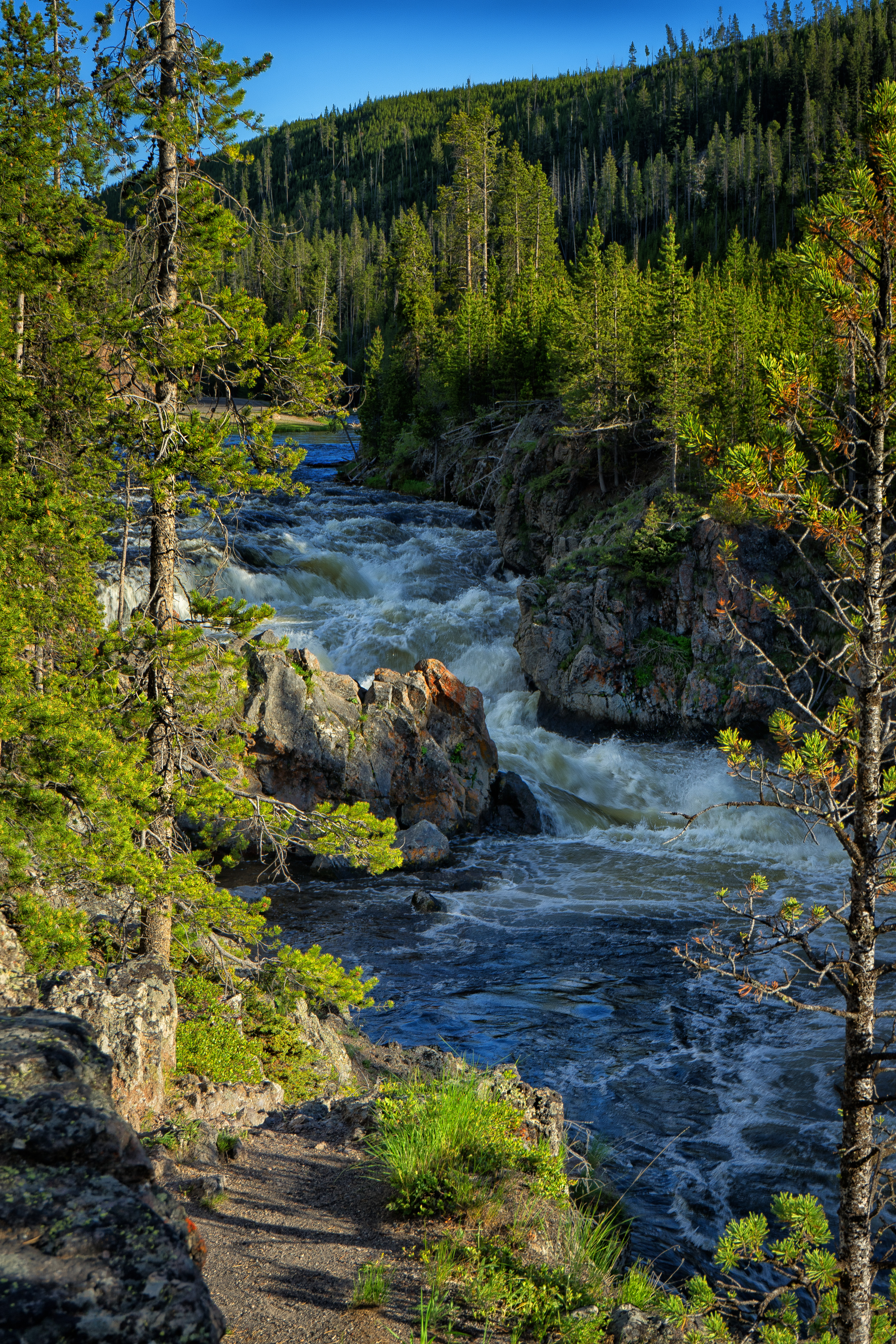 Firehole River Gorge